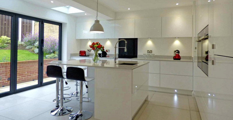 Our Kitchen's All White